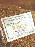 石川ファーム 煎りごま【金ごま】