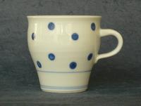 陶磁器 砥部焼 マグカップ 水玉