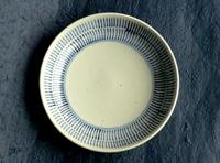 陶磁器 砥部焼き 六寸皿 刷毛目