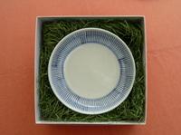 陶磁器 砥部焼ギフト 六寸皿 刷毛目