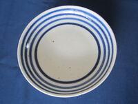陶磁器 砥部焼き 六寸皿 独楽