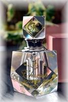 クリスタルの香水瓶/パフュームボトル