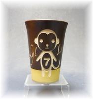 陶器カップ(水玉)