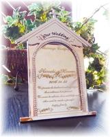 【結婚証明書】WEDDING メモリアルミラー