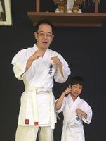 横山さん親子が入門しました。