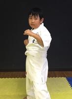 堤 龍三君小1が入門しました。