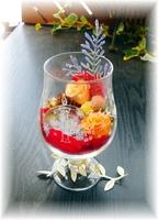 クリスマス限定/キャンドルグラス