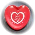 【WITH LOVE〜愛を込めて〜ハートトレー】プレゼント