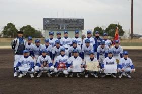 中学軟式野球選抜愛知県大会優勝!