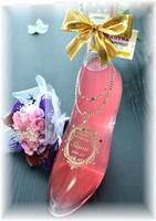【シンデレラのガラスの靴】ピンク・リキュールボトル350ml