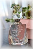 【限定】クリスタルの香水瓶/パフュームボトル