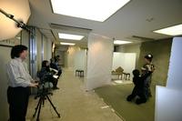 特設スタジオにてプロの式典カメラマンが撮る!
