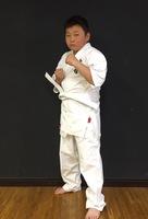 茂木 楽毅君小6が入門しました。