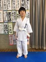 内田 輝君小1が入門しました。