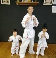 木村さん親子3人が入門しました。