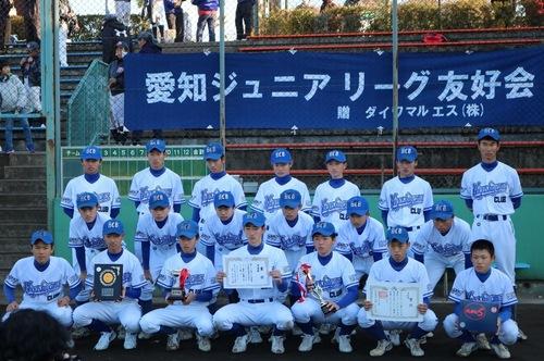 第37回愛知ジュニアリーグ優勝戦