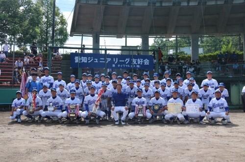 第38回愛知ジュニアリーグ大会 決勝戦